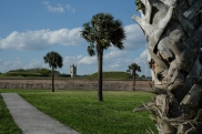 Fort Moultrie in the background.