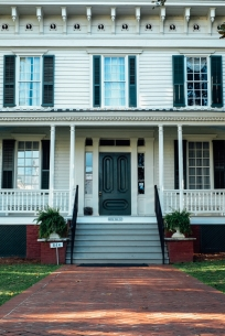 The first White House of the Confederacy, Montgomery.