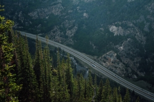 This is a view of Interstate 70 from the top of Mount Royal. This was a favorite run/hike of mine, despite it's incredible steepness. Pretty much the rest of the images are taken from a forty or fifty foot radius of this one.
