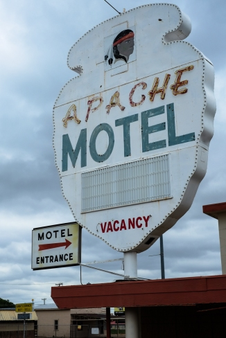 Tucumcari. The previous two images are also of this motel.