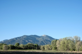 I passed this view pretty much everyday in Taos. It was one of my favorites.