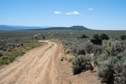 Taos mesa, where some off-grid living is happening.